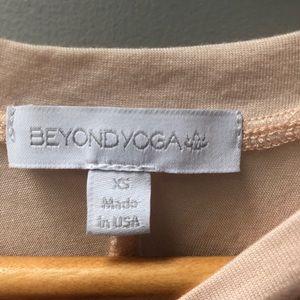 Beyond Yoga Tops - BEYOND YOGA sz XS light pink open back tank